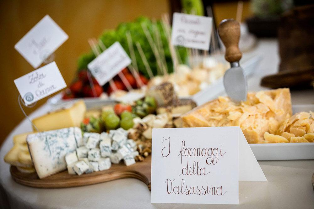 Tagliere formaggi tipici della Valsassina