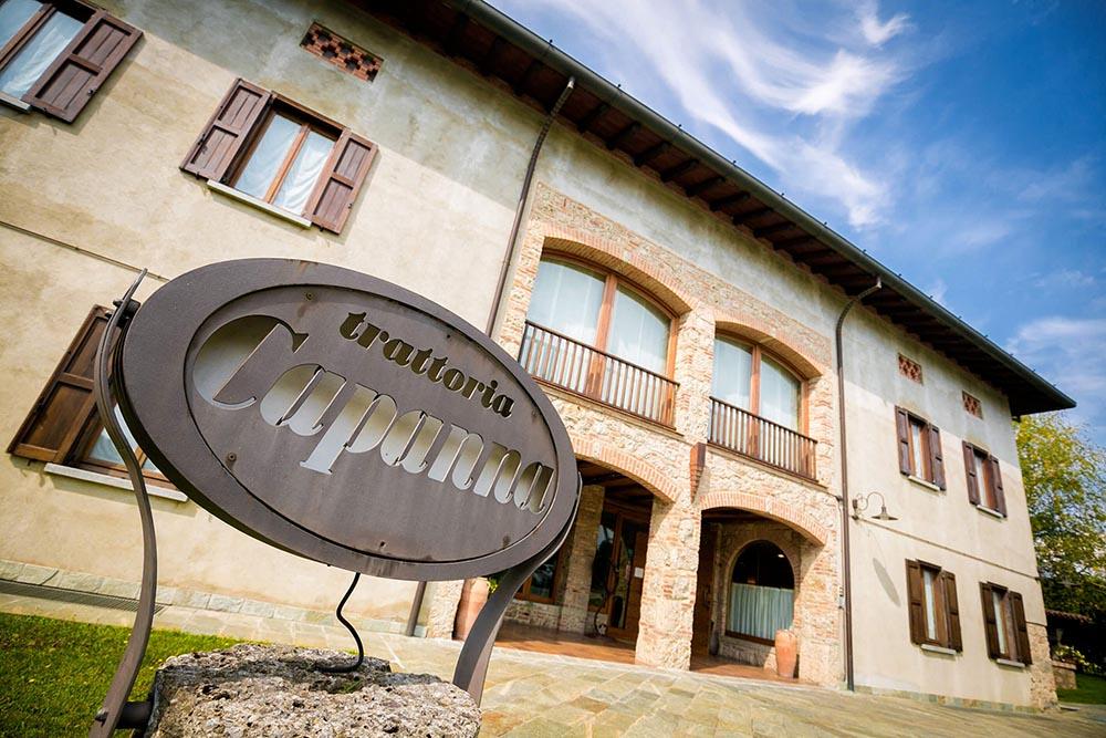 Ristorante Capanna - Insegna