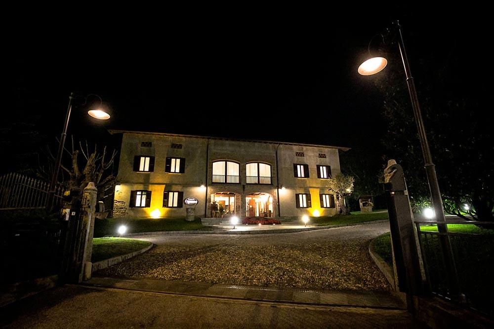 Illuminazione ristorante Capanna