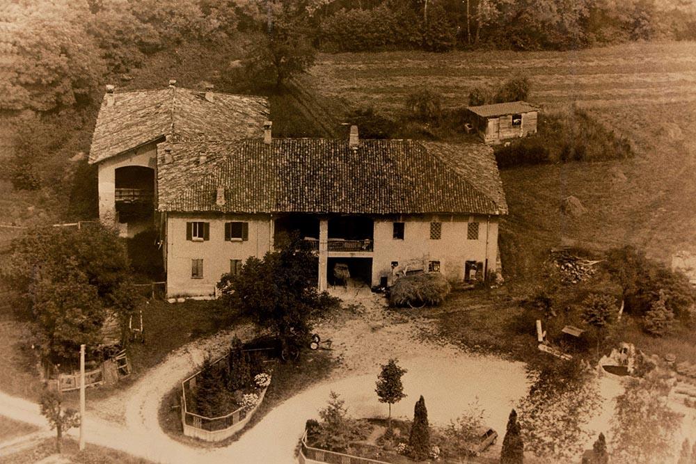 Capanna nel 1960