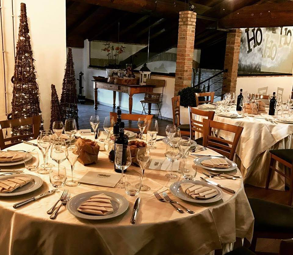 Natale - tavola apparecchiata