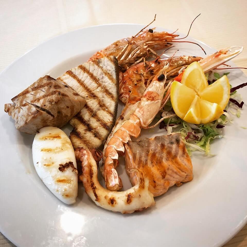 Secondo piatto di mare